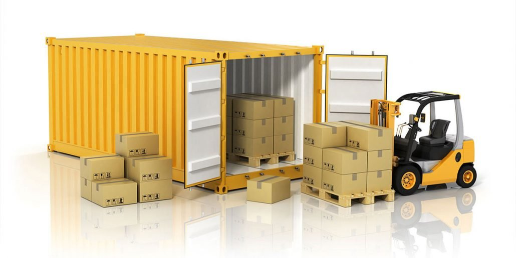 Lodný kontajner na skladovanie