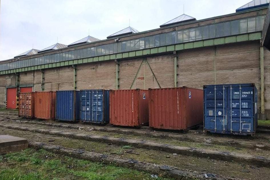 Lodný kontajner Bôry - Sklad lodných kontajnerov v Košiciach
