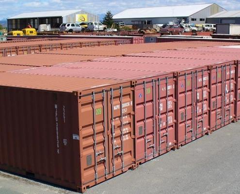 Lodný kontajner Bôry - Sklady z lodných konatjnerov